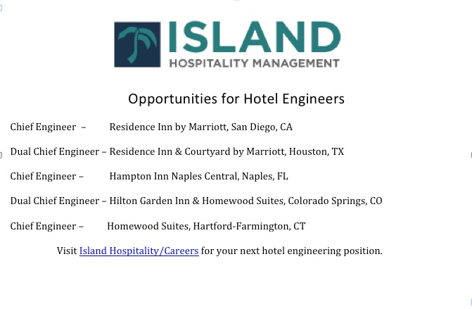 Opportunities to Advance your Career at Island Hospitaltiy Management