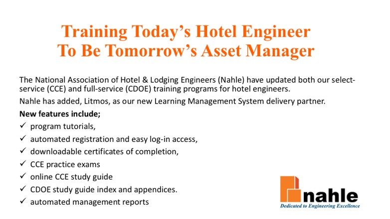 National Association Of Hotel Lodging Engineers