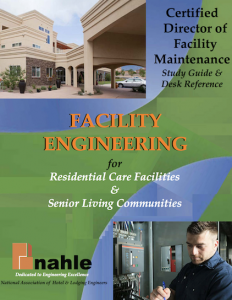 Certified Director of Facility Maintenance for Residential-Care Facilities and Senior Housing Communities